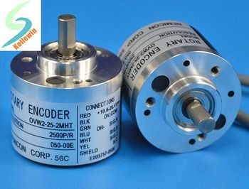 OVW2-25-2MHT New OVW2-25-2MHT rotary encoder / 2500 Pulse Within the control encoder, new in box, Free Shipping.