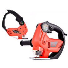 цены 220V Chain Saw Cutting Machine Electric Reciprocating Saw Home Woodworking Industrial Grade Woodworking Multifunctional Jig Saw