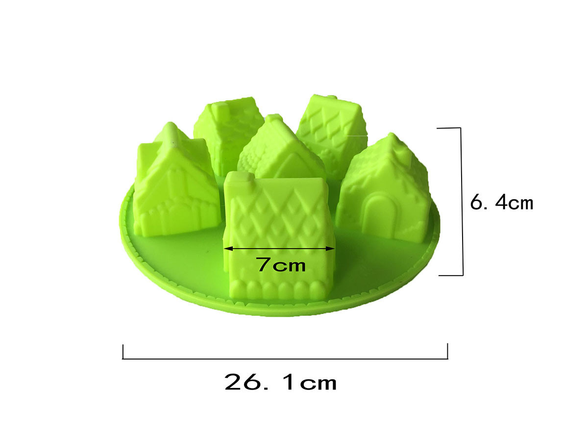 силикон пирожкалары 6 кішкене үйде - Тағамдар, тамақтану және бар - фото 3