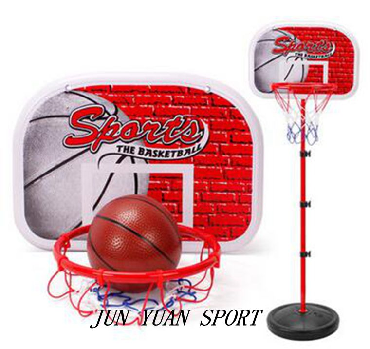 ФОТО High quality!80-200cm 2-in-1 Basketball Stand Dart Target 4-Section Height Adjustable Children Sports Equipment