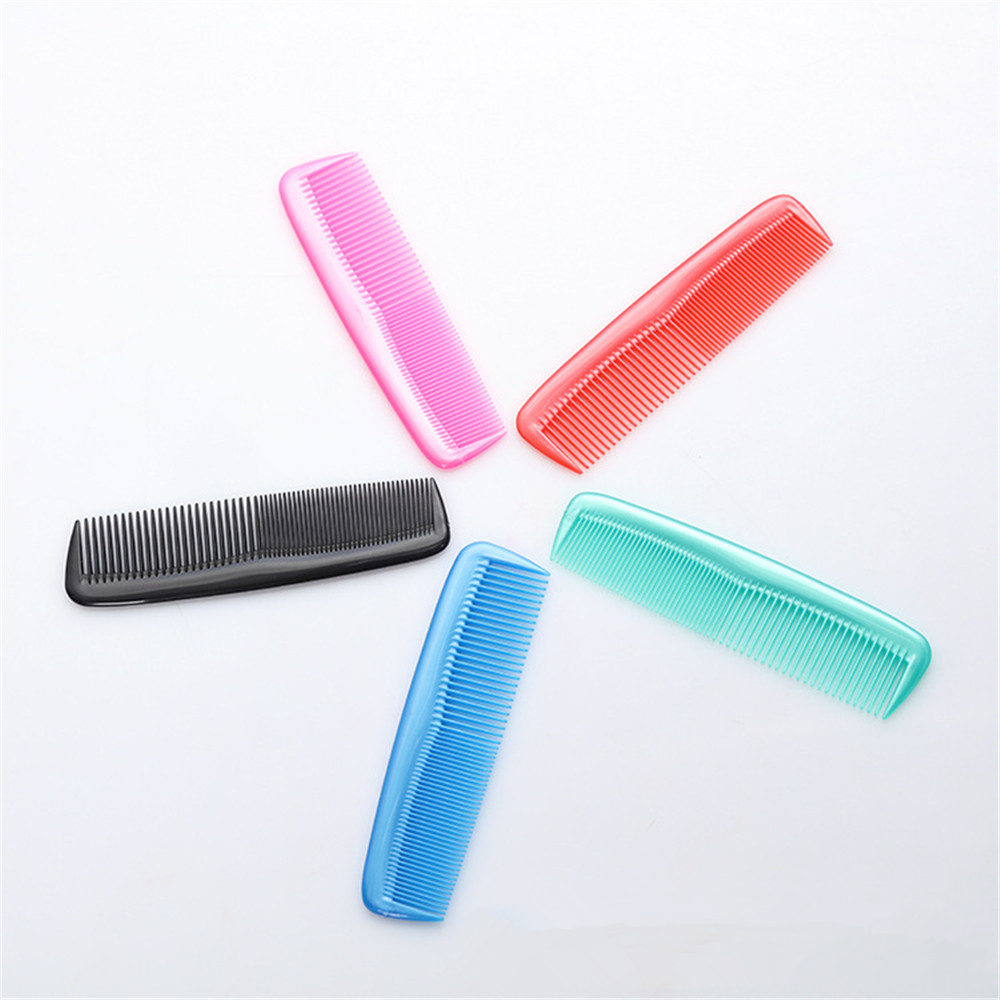 3Pcs/Pack Plastic Comb For Professional Tangle Hair Brush Salon Home Universal Hair Style Comb Styling Tools Coloring Hairbrush