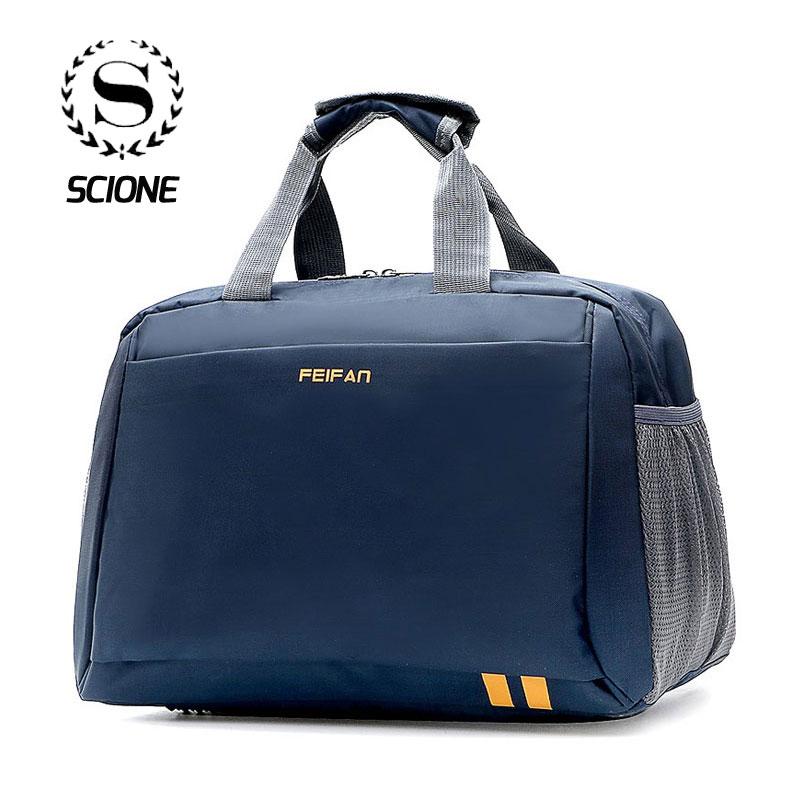 Scione Large Women Bag Classic Handbags Fashion Shoulder Bag Men's Big Shoulder Bags Weekend Travel Bag