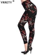 YRRETY Plus rozmiar 2020 drukuj Legging kobiety wszechświat Galaxy drukowanie legginsy spodnie elastyczność przestrzeń Tie barwnik Legging wysokiej jakości