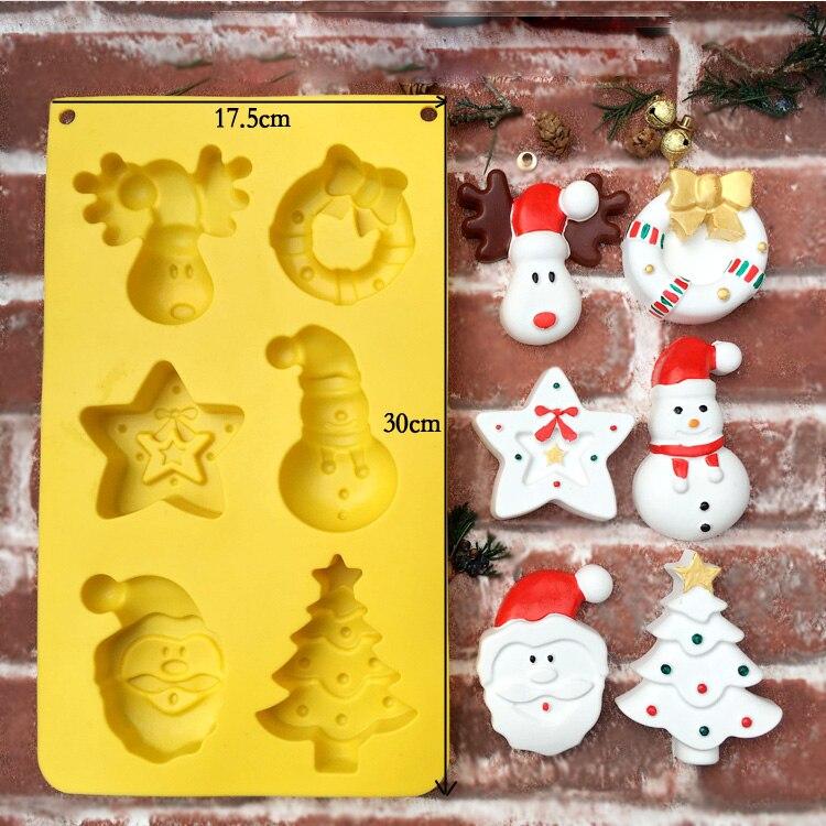 2019 Neue Mode Diy Kerzen Handgemachte Form Koreanische Stil Duft Kerze Solide Weihnachten Diy Geprägte Kerze Silikon Form Haus & Garten Brieftaschen Und Halter