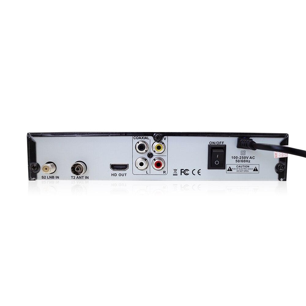 Image 3 - Vmade DVB T2 DVB S2 цифровой спутниковый наземный комбинированный приемник HD dvb t2 s2 ТВ бокс H.264 MPEG 4 1080p Стандартный телеприставка-in Приемник спутникового ТВ from Бытовая электроника