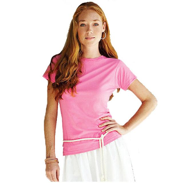 T Shirt Women Summer Cotton Crop Tee Tops tshirt Women's solid color T-Shirt Femme blusa camiseta