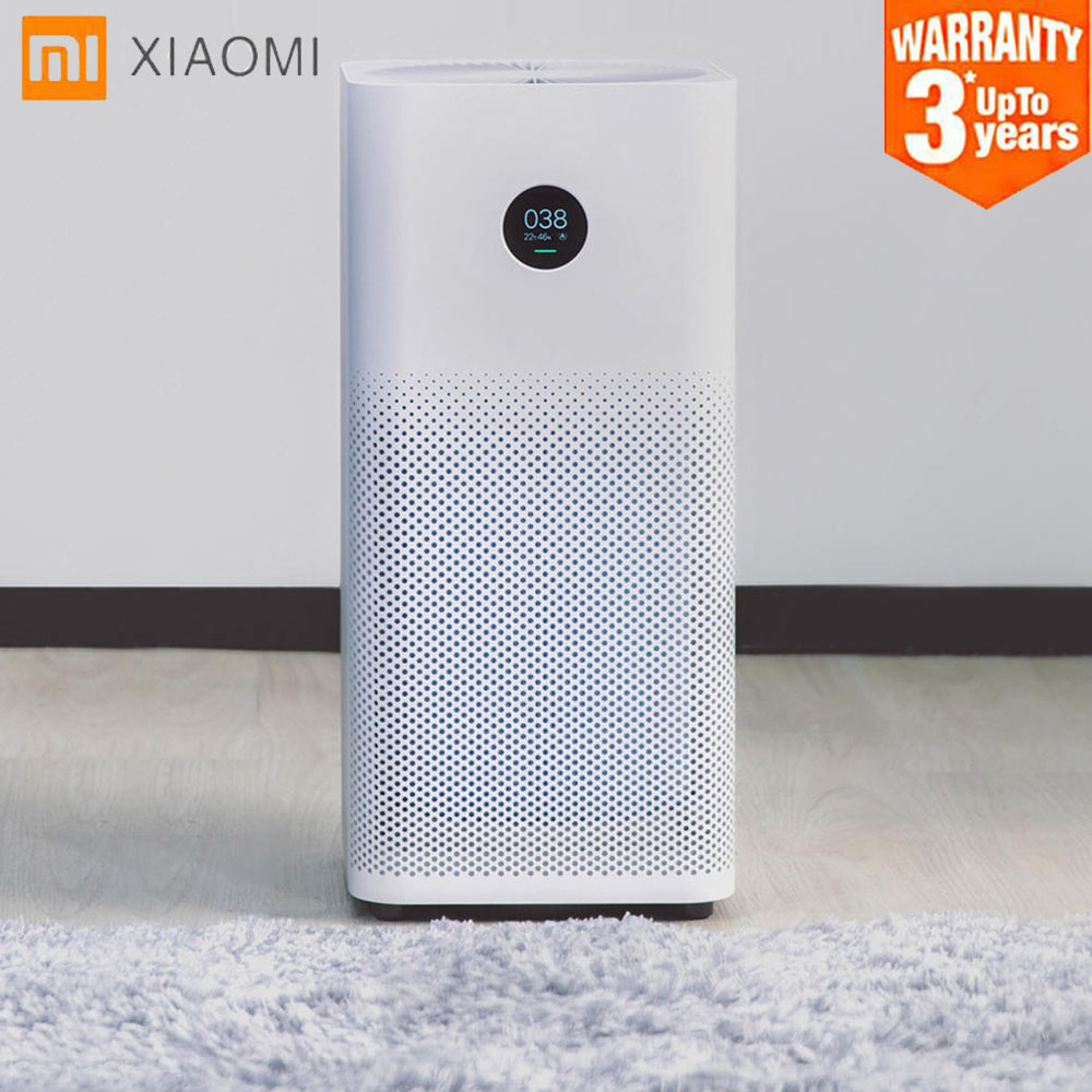 Original Xiaomi Mi Smart Air Purifier 2S OLED Display Smartphone Mi Home APP Control Smoke Dust Peculiar Smell Cleaner