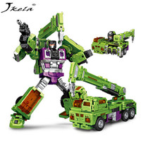 Jkela New IN STOCK NBK 01 06 Transformation Robot Ko Version Gt Scraper Of Devastator