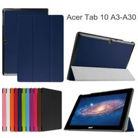 Xskemp Роскошный кожаный чехол кожи для Acer Iconia One 10 B3-A30 10.1-дюймовый 360 Вращающийся Tablet Kickstand shell Чехол с подарком