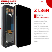 ORIGINAL Display For SONY Xperia Z LCD Touch Screen Digitizer With Frame For SONY Xperia Z