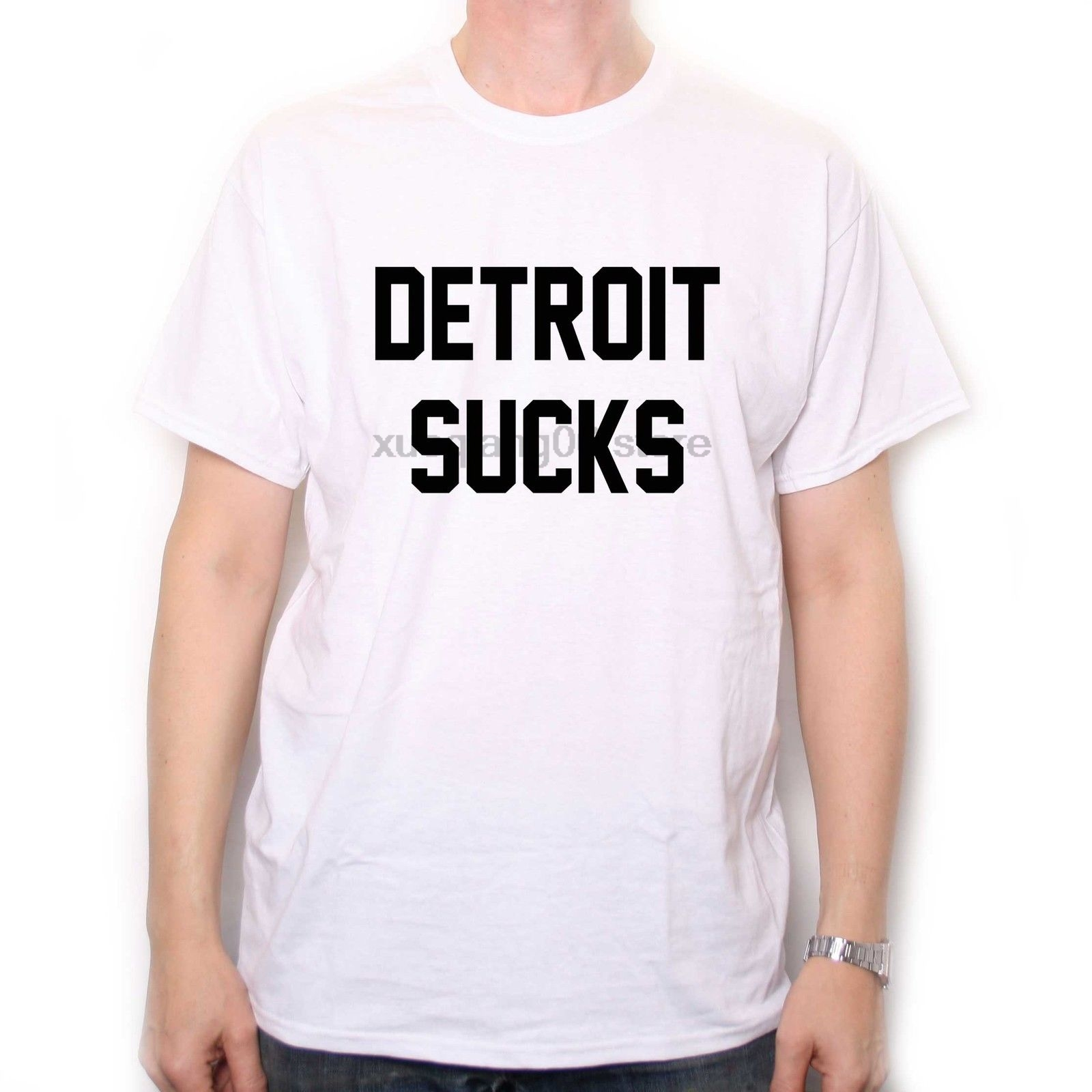 As Seen In Almost Famous T Shirt - Detroit Sucks Lester Bangs Cult Movie T Shirt