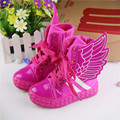spring and autumn fashion wings children sneakers casual shoes high top breathable kids boys and girls canvas shoes child boots