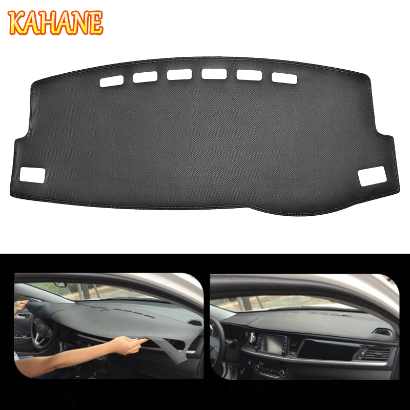 KAHANE Leather Car Dashboard Cover Non Slip Dash Mat Pad Left/Right Hand Driver For Toyota Corolla 2014 2018