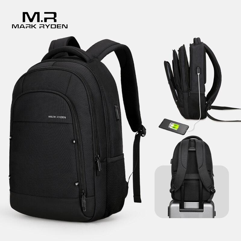 Mark Ryden Men Backpack Multifunction USB Recharging Fit 15 6inch Laptop Casual Backpacks For Male Mochila