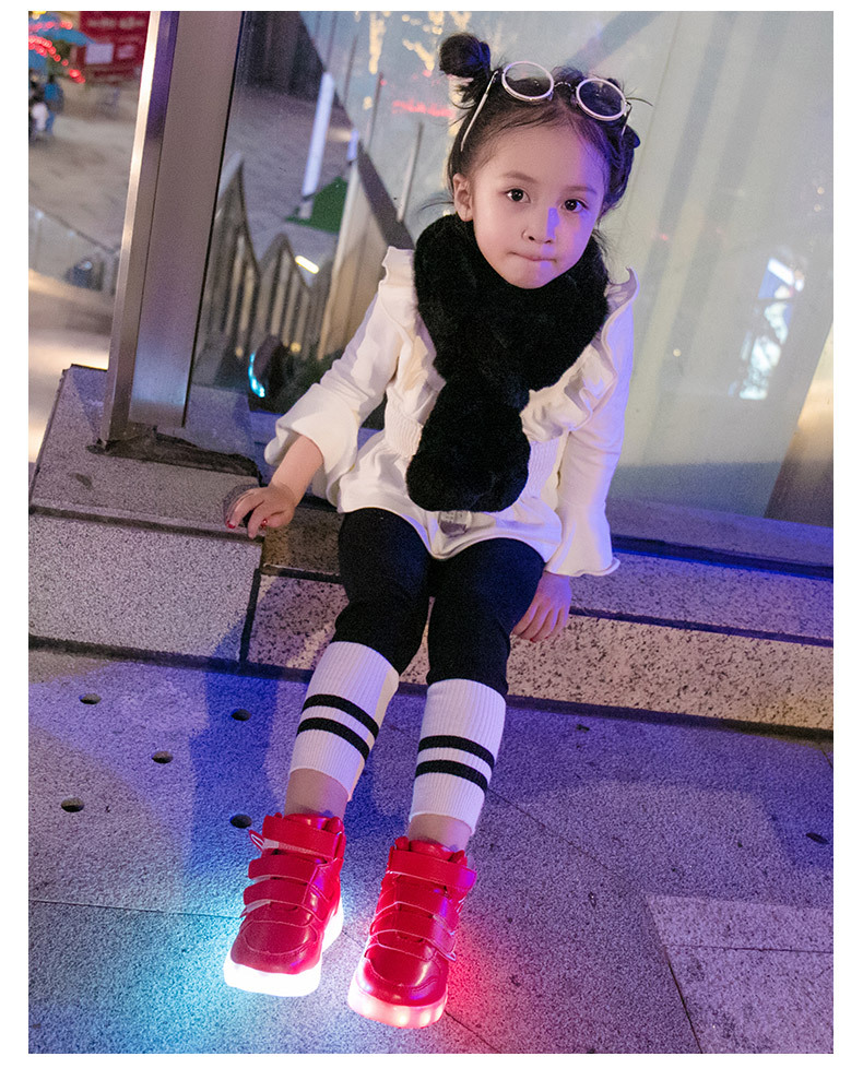 HTB1UDumef9TBuNjy1zbq6xpepXaR - UncleJerry Kids Light up Shoes with wing Children Led Shoes Boys Girls Glowing Luminous Sneakers USB Charging Boy Fashion Shoes