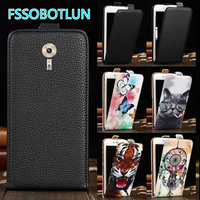 Factory direct! For Lenovo ZUK Edge Luxury Cartoon Painting vertical phone cover bag flip Smooth up and down PU Leather Case