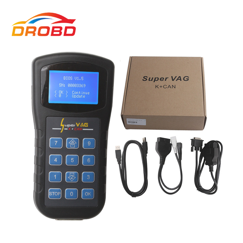 Xhorse Super VAG K+CAN V4.6 K CAN V4.6 OBD2 VAG Diagnostic Tool Auto Scanner Diagnostic Can Bus San Tool Free Shipping