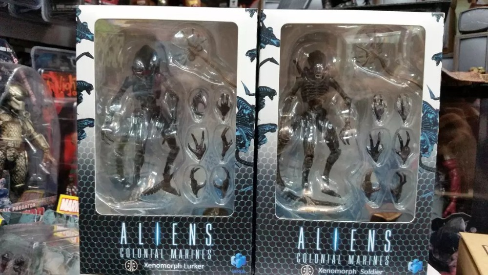 Alien Colonial Marine Lurker And Soldier 18/1 3.75 Super Articulate Action Figure New in Box 4r electric bass guitar tuners machine heads bass guitar tuning pegs tuning keys buttons chrome guitar parts