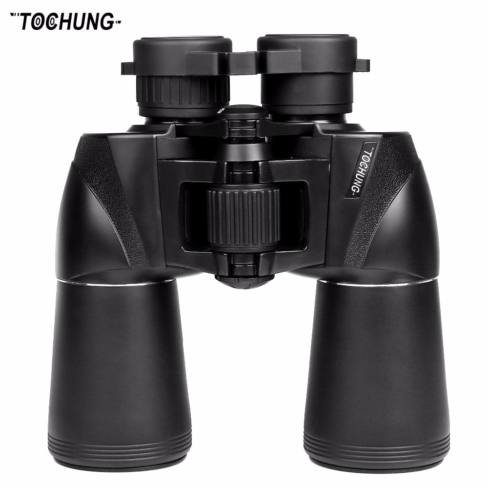 TOCHUNG binoculars 10x50 military waterproof binoculars, wide angle vision zoom binoculars telescope for hunting outdoor