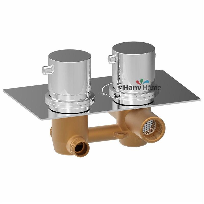 Thermostatic Shower Mixer Valve Set Thermostat Mixing Valve Handheld  Bathroom Product Bath Shower Set Shower Systems In Shower System From Home  Improvement ...