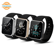 "NFC Bluetooth Smart Uhr 1,54 ""IPS display Mann frau Tragbare smartWatch anti-verlorene sport armbanduhr für Android telefon"