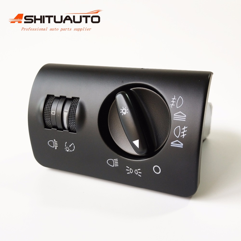 AshituAuto OE Quality Fog Lamp Headlight Control Switch For Audi A6 C5 1997 2005 OEM 4B1