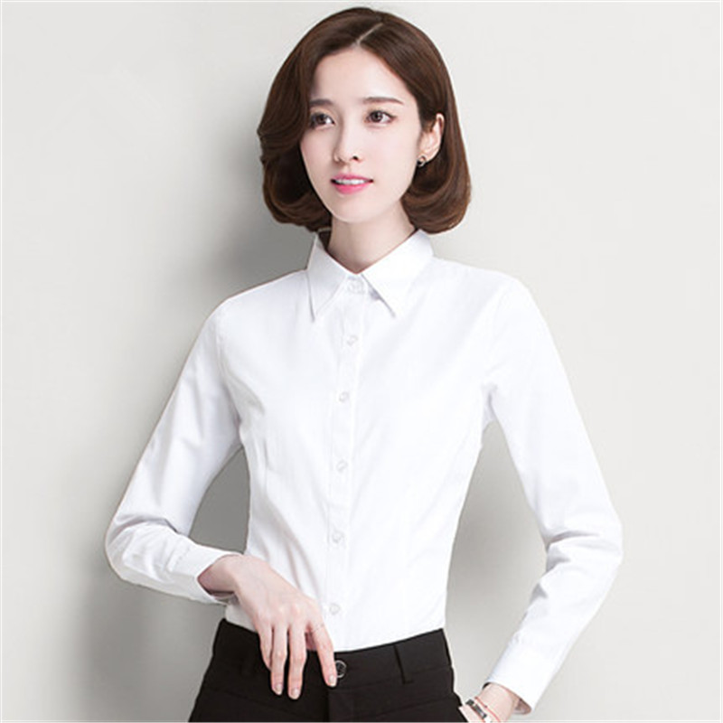 Compare Prices on Ladies Work Shirt White- Online Shopping/Buy Low ...