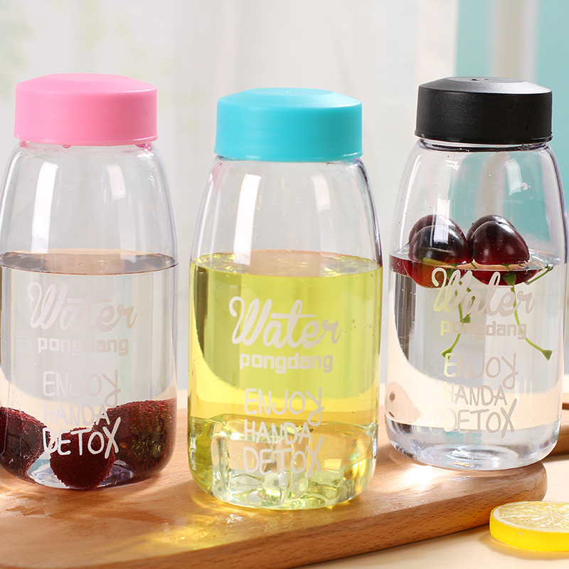 Water bottle Plastic water Portable Fashion Advertising Gift household products Drinkware High capacity Personality new