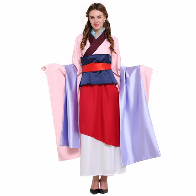 ... cosplaydiy custom made asian hua mulan dress costume women cosplay costume version 2 ...  sc 1 st  Home Design & Diy Mulan Costume - Home Design