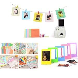Image 5 - Kit de accesorios 7 en 1 para Fujifilm Instax Mini 8/8 +/8s/9/funda de cámara/correa/Espejo Selfie/filtro/Álbum/película, bordes adhesivos, etc
