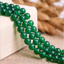 Round Natural Turquoise Green Agate Beads Stone Loose Stone Beads DIY Bracelet Necklace Jewelry Making Gem 2/4/6/8/10mm Z261 natural green blue fire agate for jewelry making necklace round loose stone beads gemstone 6 8 10mm diy bracelet necklace