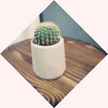 Round 3D Silicone Pot Mold for Concrete Flower Vase Cement Planter Succulent Plants Mould