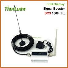 TianLuan 2G DCS 1800 MHz Teléfono Móvil Amplificador de Señal 4G 1800 MHz Amplificador Repetidor de Señal de Teléfono Celular con el Látigo/Lechón antena
