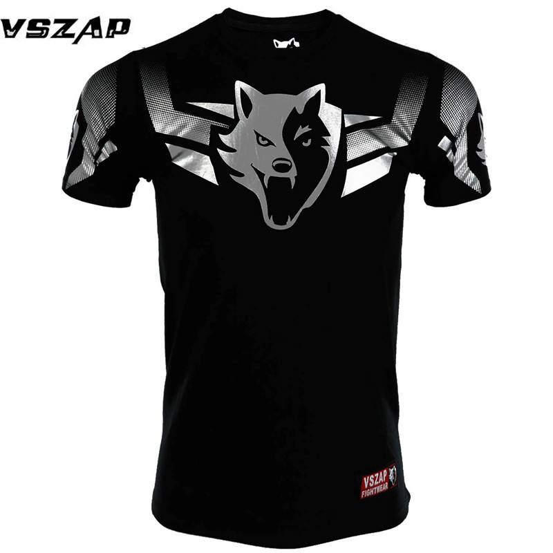 Brazilian MMA Fighting Unisex T-shirt VSZAP Built To Fight Muay Thai Jersey Kickboxing Tee MMA Thai Boxing Tees