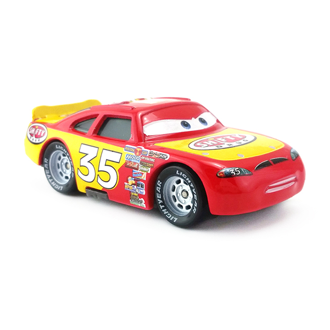 Disney 8 Cm No. 35 Number Action Figure Metal 1:55 Scale Diecast Car Racing Car Alloy Model Toys for Kids Christmas Gift