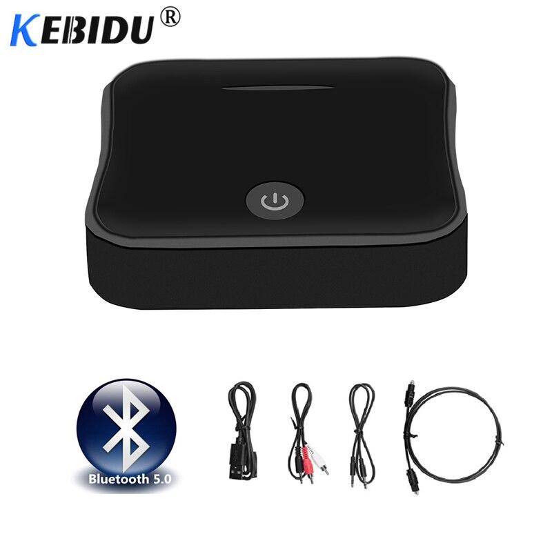 Intelligent Kebidu Drahtlose Bluetooth 5,0 Sender Empfänger Digital Optical Toslink Spdif Rca 3,5mm Audio Adapter Aptx Hd Für Tv/ Lautsprecher Funkadapter Tragbares Audio & Video