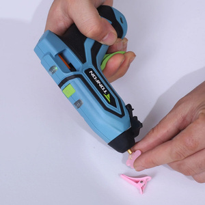 Image 4 - Youpin Tonfon Wireless Hot Melt Glue Gun Stick Industrial Mini Guns Thermo Electric Heat Temperature Tool for 7mm Diameter