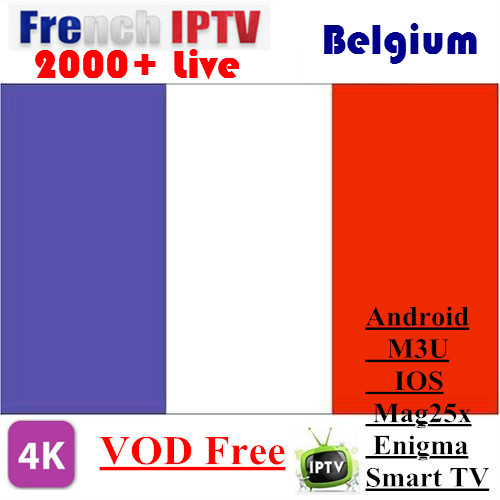 Promotion IPTV for French Belgium Arabic Spain Germany Swiss Nordic Support Android m3u enigma2 mag250 TVIP 5000+Vod supported