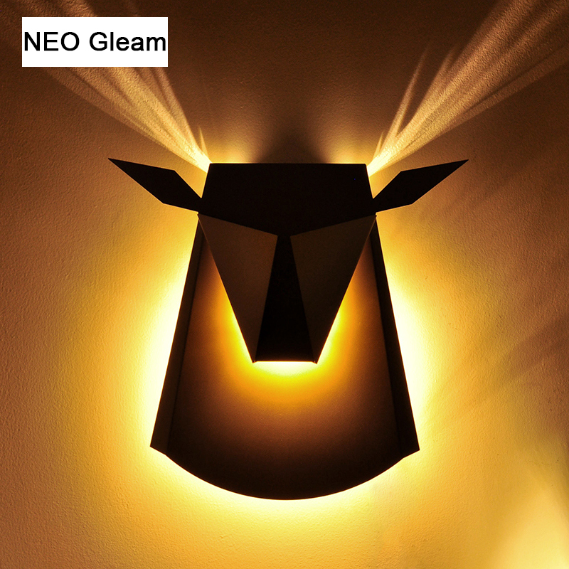 NEO GLeam LED Wall Lamps Sconces Lights Fixture For Living Room Stair Balcony Bedroom Home Decorative Modern Led Wall Lights new fashion modern mounted wall lamps led wall lights sconce lampara wall lights for home luminary leds stair lampadas e27