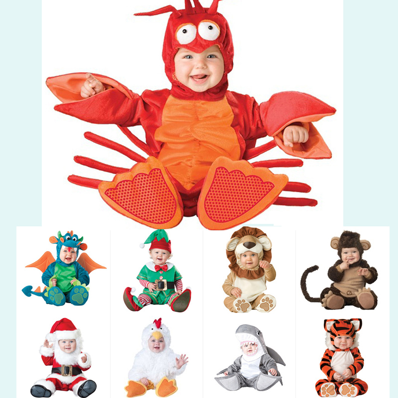 2018 Nouveau Barboteuses Animaux Forme Enfants Garçon Filles Combinaisons  Printemps Infantile Salopette Enfants Tenues Bébé Halloween 2cc53b4f865