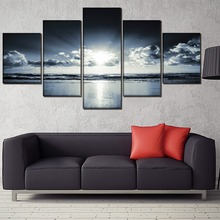 Sunrise Decor Landscape Painting Home Picture Wall Art Canvas Modern HD Printed Paintings Artwork