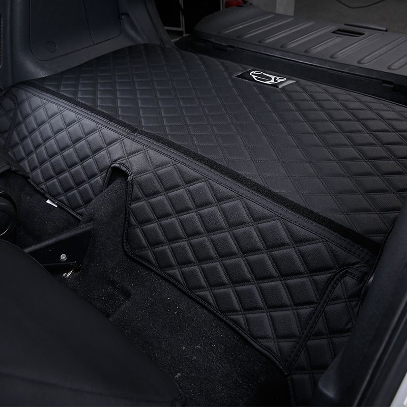 lowest price Rear tail box anti-dirty pad For smart 451 450 Fortwo Modification accessories trunk protection mat logo decoration car styling