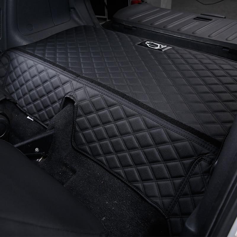 Image 4 - Автомобильный задний ящик, анти грязный коврик для smart 451 fortwo, аксессуары для модификации, коврик для защиты багажника, логотип, украшение автомобиля, Стайлинг on AliExpress - 11.11_Double 11_Singles' Day