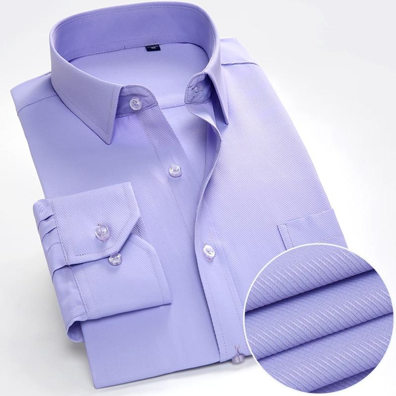 Mens Dress Shirt Long Sleeve Casual