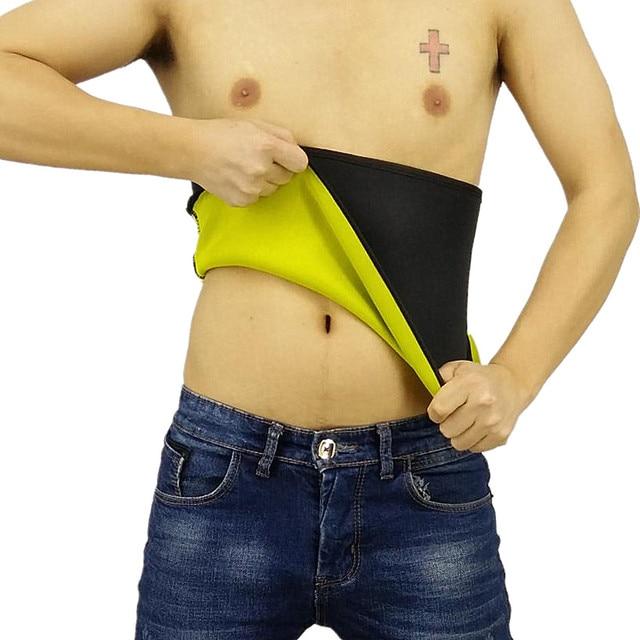 Neoprene Waist Trainer Belts Men's Body Shaper Sweat Vest Slimming Shirts new Sale Thermo Sauna Suit Weight Loss Black Shapewear 1