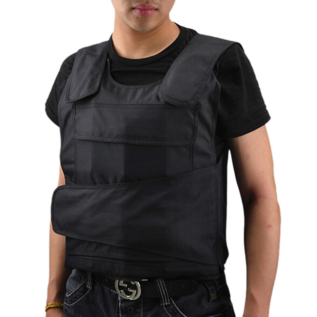 New Fashion Bulletproof Vest Men Body Armor Proof Tactical Ballistic Waistcoat Concealable Safety