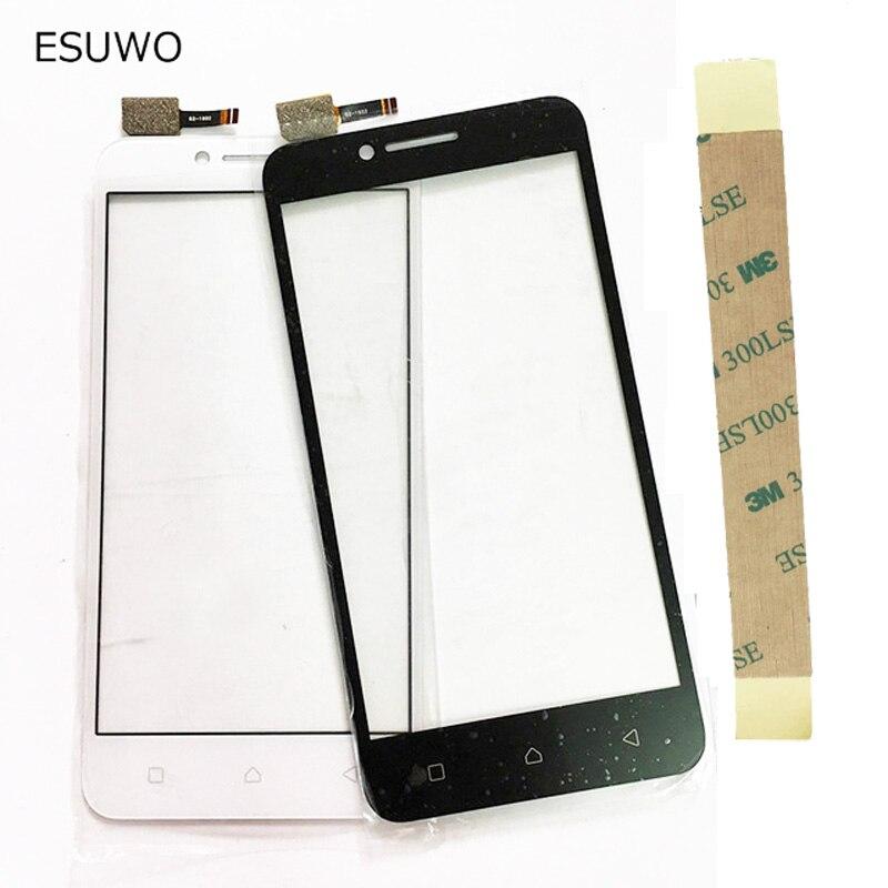 ESUWO 5.0 Capteur Panneau Écran Tactile Pour Lenovo Vibe C A2020 A2020a40 Écran Tactile Digitizer Façade En Verre + 3 M Bande
