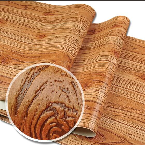ФОТО Chinese style stereo wood grain wallpaper ceiling 3d wood wallpaper