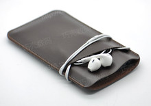 New Arrival Hot selling ultra-thin super slim sleeve pouch cover, vintage microfiber stitch case for Yotaphone2