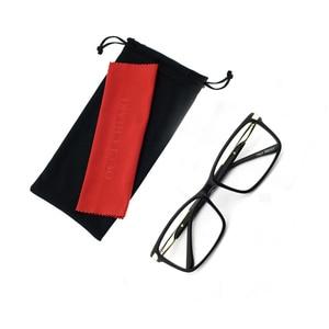 Image 5 - OCCI CHIARI Eyewear Frames Optical Eyeglasses Eyewear Gafas Rectangle Men Black Prescription Glasses Frames Clear Lens W CAPATI